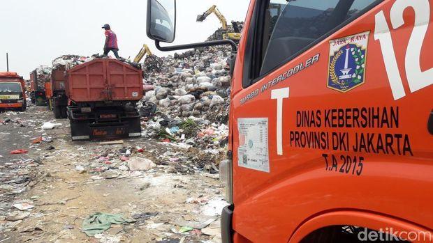 Di Tengah Polemik, Pengiriman Sampah DKI ke Bantargebang Normal