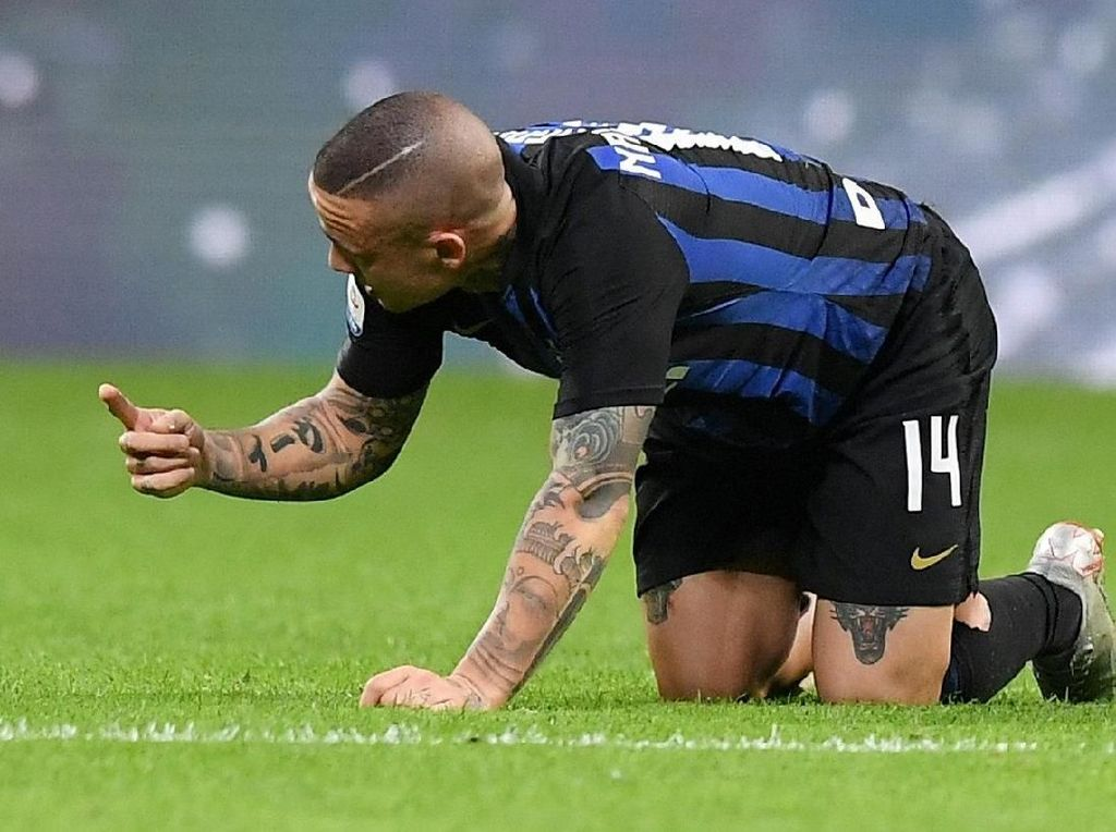 Inter Berjaya, Radja Nainggolan Cedera