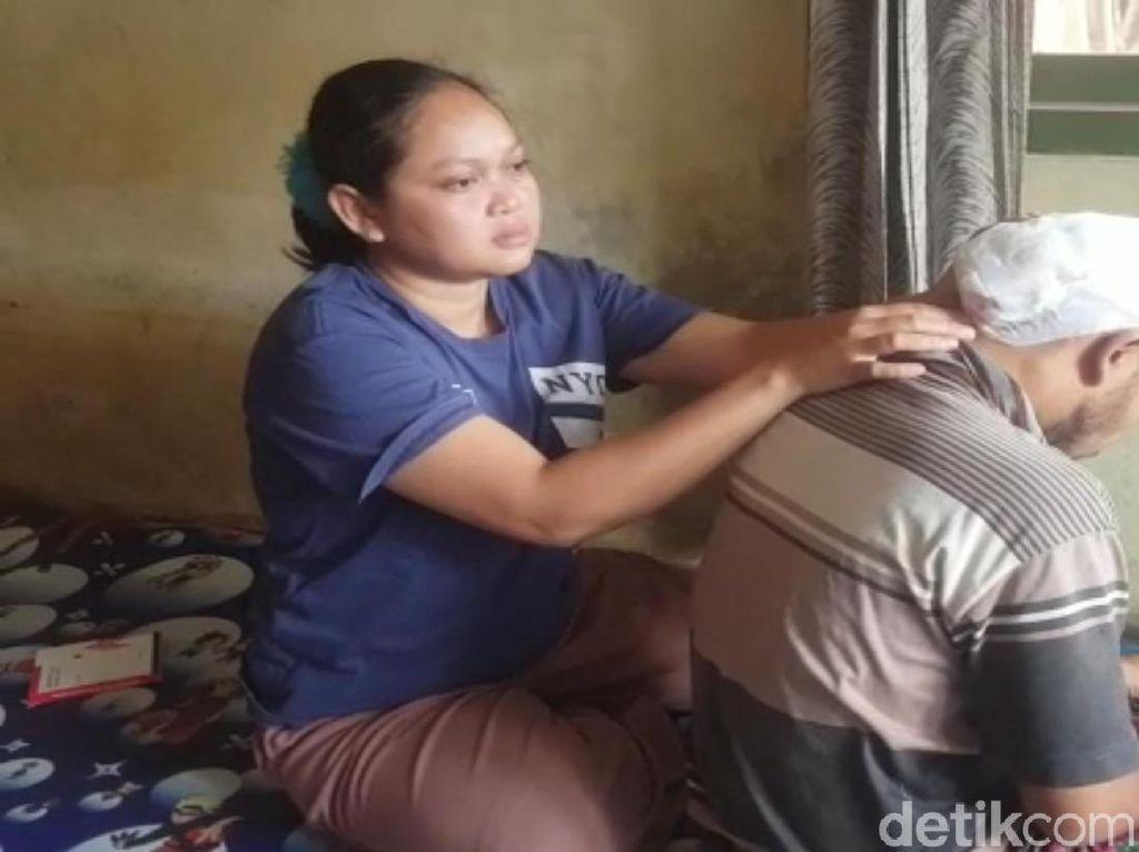 Nelangsa Sopir Ojek di Sukabumi Idap Tumor Ganas