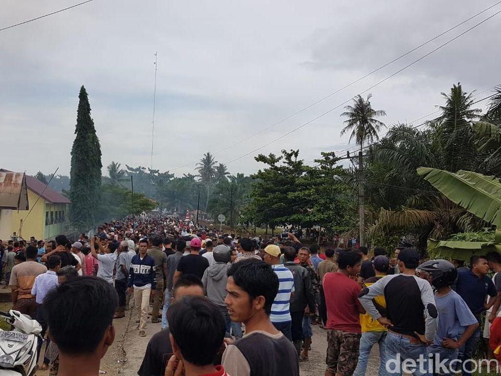 Polsek di Aceh Dibakar karena Pengedar Sabu Tewas saat Diperiksa
