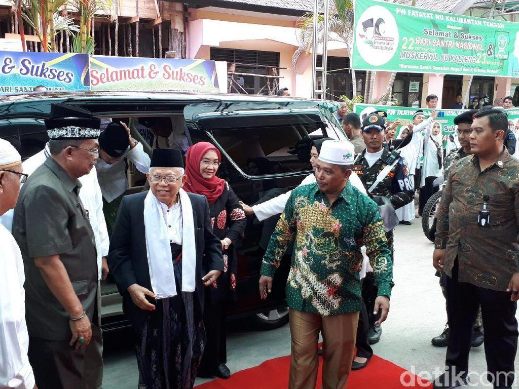 Maruf Amin akan Hadiri Peringatan Hari Santri di Kalteng