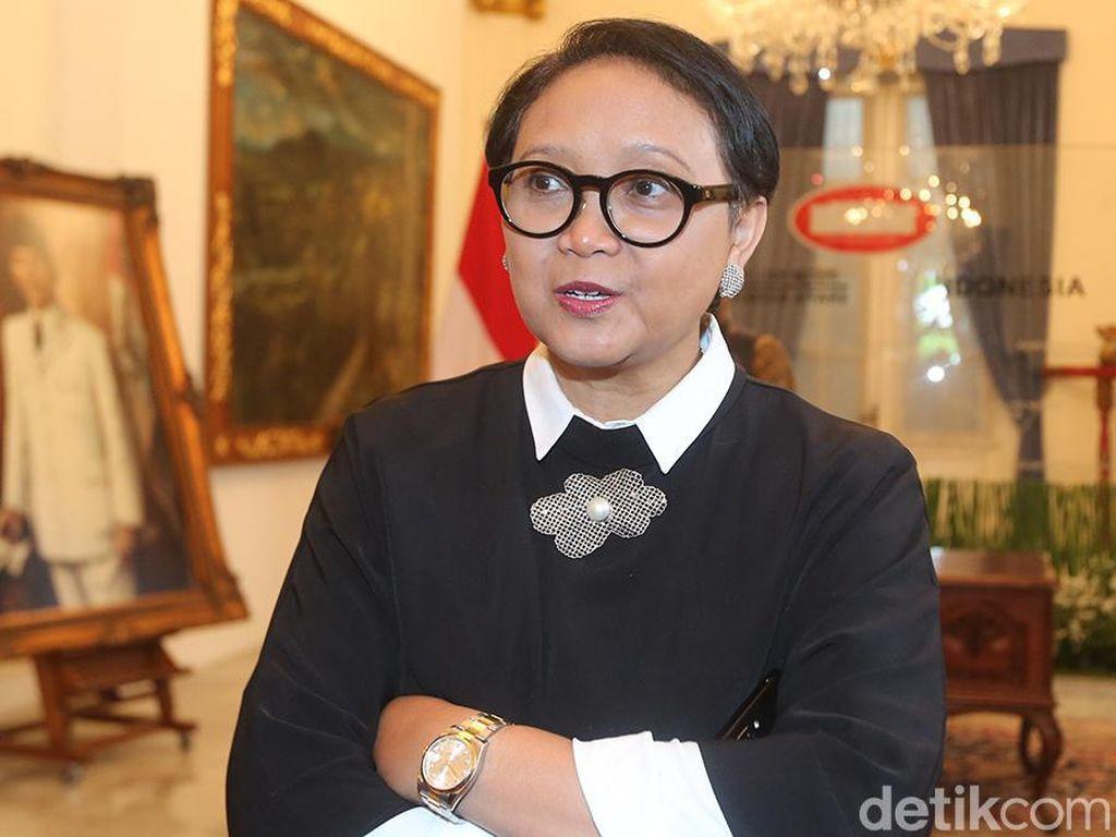 Menlu Retno Jelaskan Pembebasan Siti Aisyah