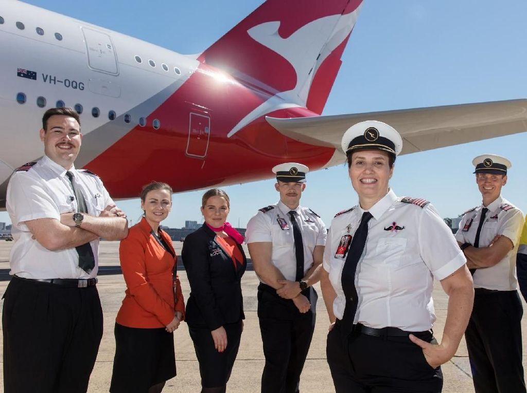 Bantu Melbourne, Pramugari Qantas Ditugaskan Jaga Hotel Karantina
