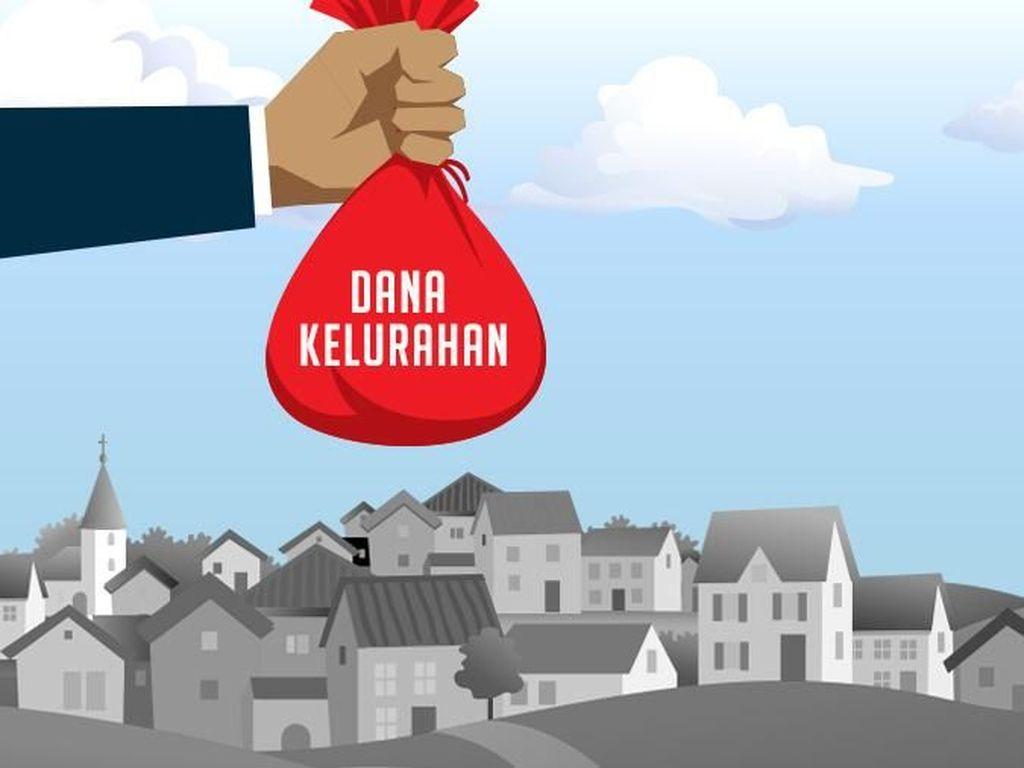 Jokowi Sebar Dana Kelurahan Rp 3 Triliun Tahun Depan