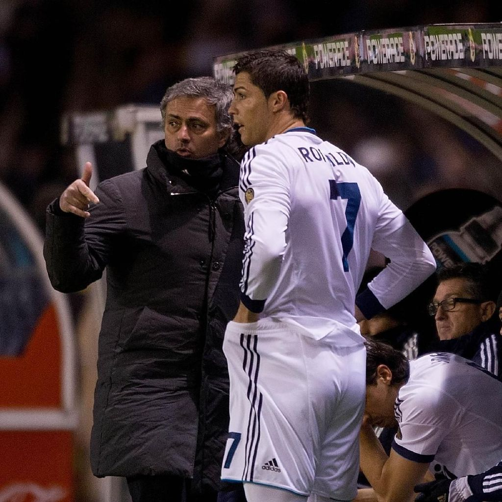 Ronaldo Sering Mati Kutu di Hadapan Jose Mourinho