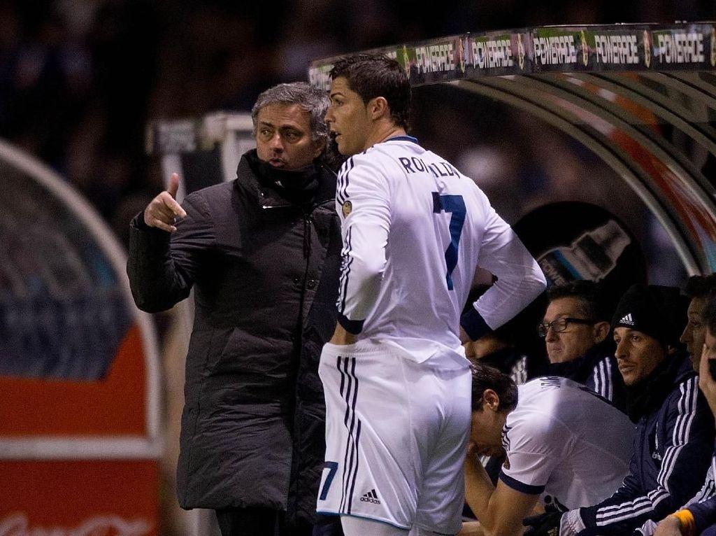 Apa Mungkin Mourinho dan Ronaldo Reuni di AS Roma?