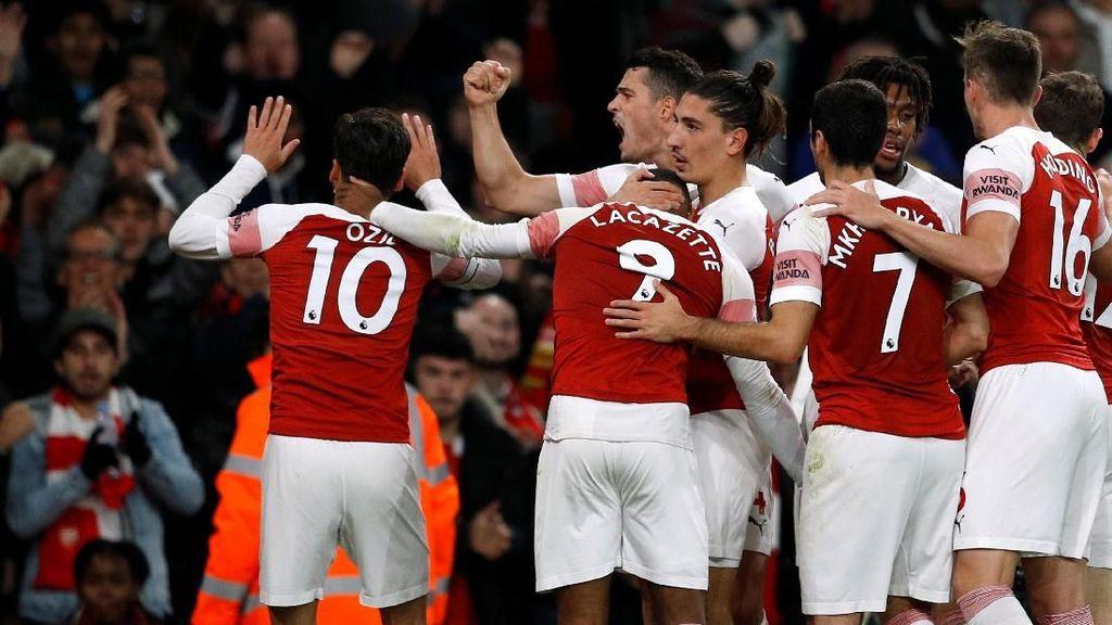 Seksinya Arsenal, Cetak Gol Melalui 9 Operan