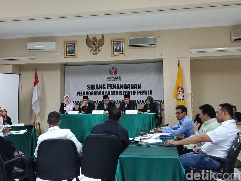 Sidang Videotron Jokowi-Maruf, Terlapor Tak Bawa Surat Kuasa