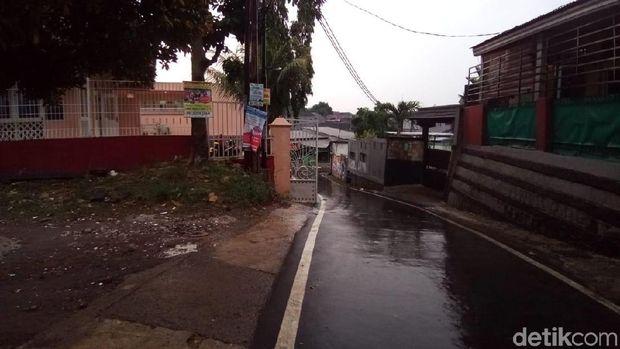 Lokasi pocong palsu di Depok berniat nge-prank /