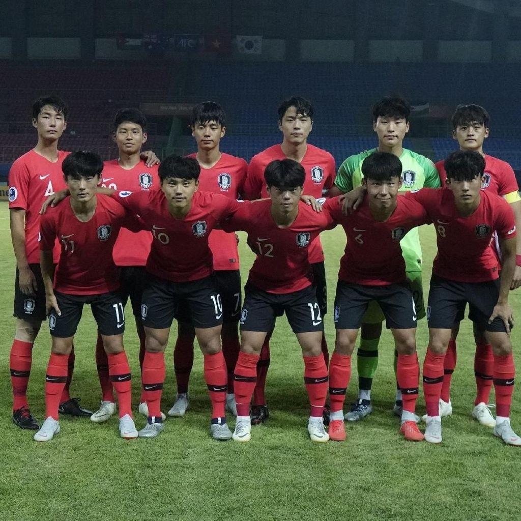 Lagu Kebangsaan Korsel Tertukar dengan Korut di Piala Asia