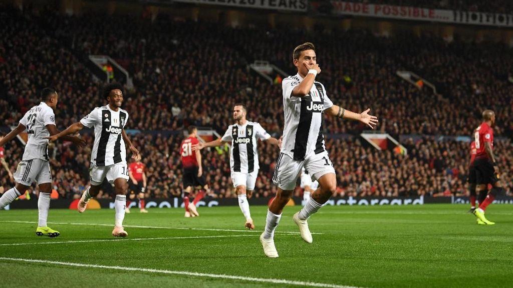 Hasil MU vs Juventus: Gol Tunggal Dybala Redam Setan Merah