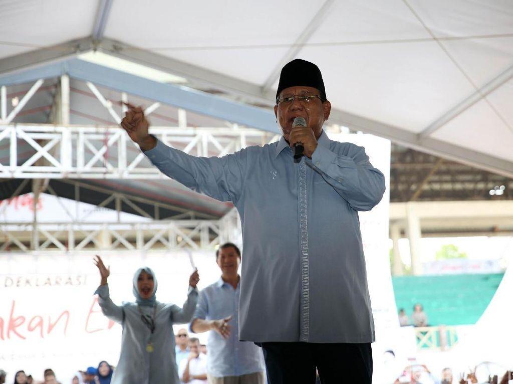 Apa Maksud Prabowo Serahkan Wagub DKI ke Taufik?
