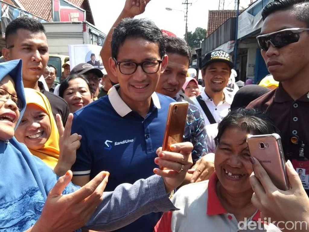 Sempat Janji Tak Kampanye di Sulawesi, Sandiaga Besok ke Palu
