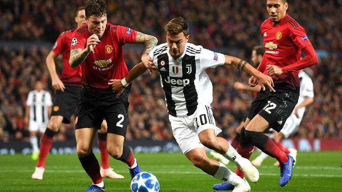 Manchester United kalah 0-1 dari Juventus lewat gol semata wayang Paulo Dybala. (Foto: Michael Regan/Getty Images)
