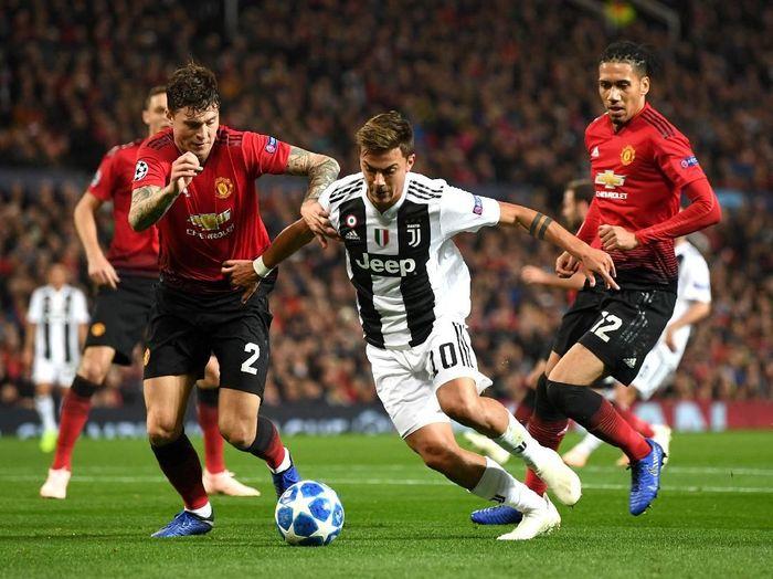 Manchester United saat ditaklukkan oleh Juventus di Liga Champions 2018. (Foto: Michael Regan/Getty Images)
