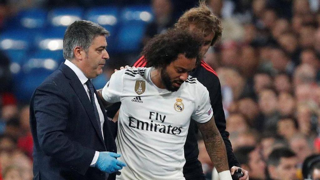 Mengenal Cedera Engkel Seperti Dialami Bek Real Madrid Marcelo