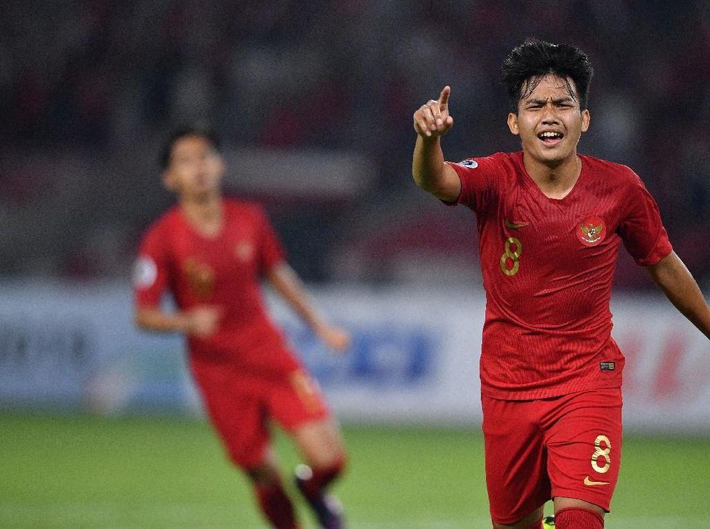 Hasil Indonesia Vs UEA: Garuda Muda Menang 1-0