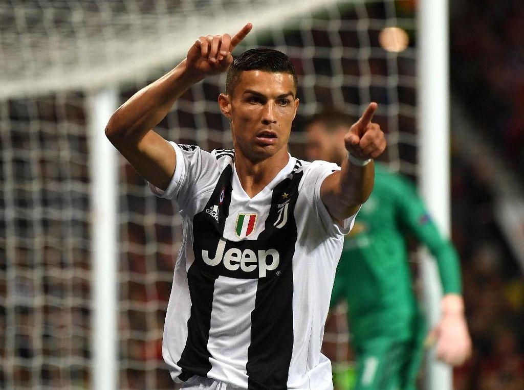 Kerabat Meninggal, Fans Juventus Minta Karangan Bunga Diganti Gol Ronaldo