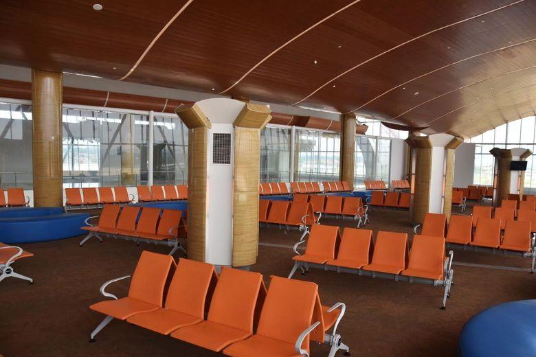 Pada sisi darat telah dibangun gedung terminal seluas 12.700 m2 | Detikfinance | Istimewa/Kemenhub.