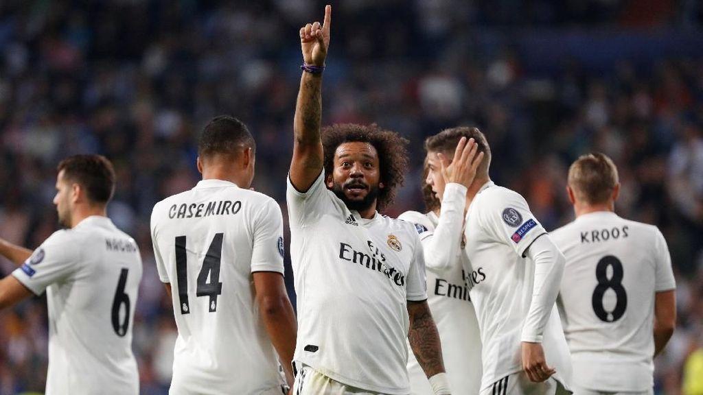 Madrid Berhasil Akhiri Puasa Kemenangan
