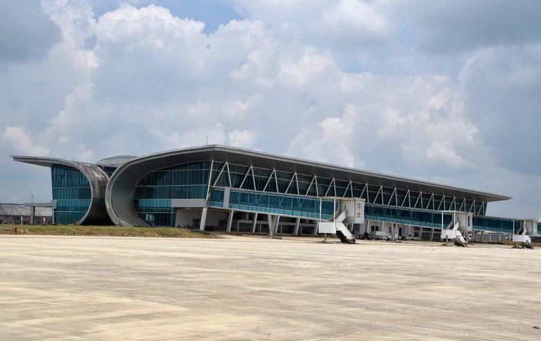 Bandara APT Pranoto memiliki ukuran runway 2.250 m x 45 m, taxiway berukuran 173 m x 23 m, apron 300 m x 123 m | DetikFinance |  Istimewa/Kemenhub.