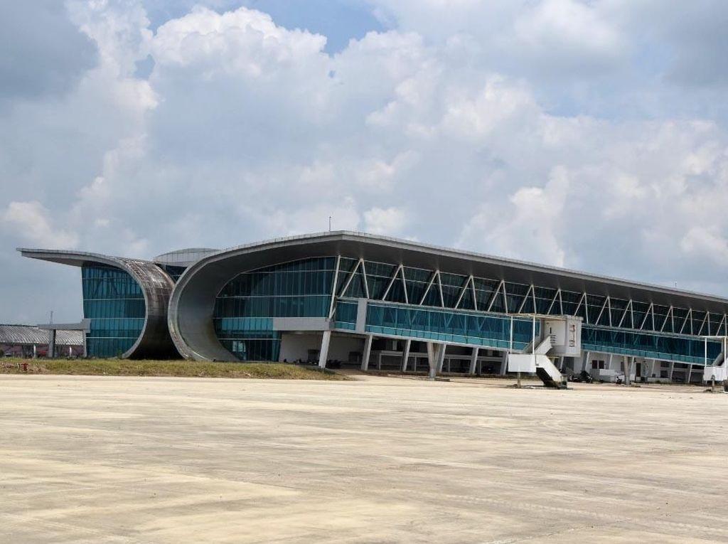 Renovasi Selesai, Bandara Samarinda Kembali Dibuka