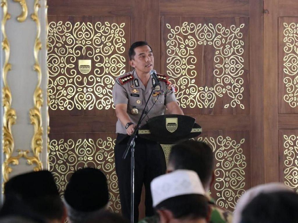 Kapolrestabes Bandung Berharap Tidak Ada Mobilisasi Masa soal Bendera HTI