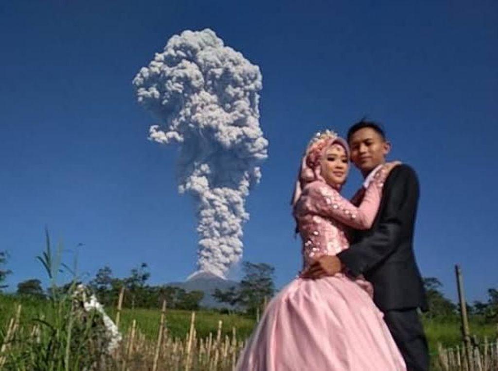 Sutopo Cerita Bule Menikah Saat Gunung Agung Bali Erupsi