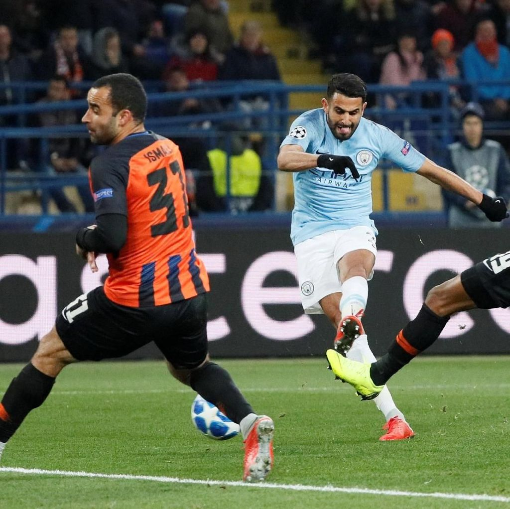 Hasil Shakhtar vs City: The Citizens Bungkam Tuan Rumah 3-0
