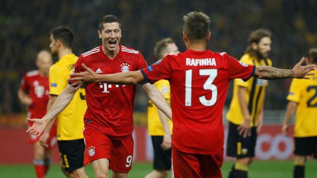Hasil AEK Athens vs Bayern Munich: Die Roten Menang 2-0