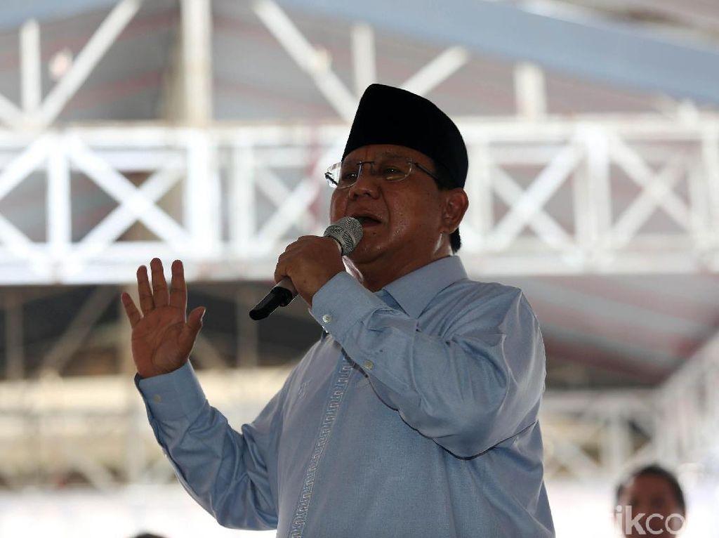 Cerita Prabowo Sempat Berharap Rhoma Irama Gabung Gerindra