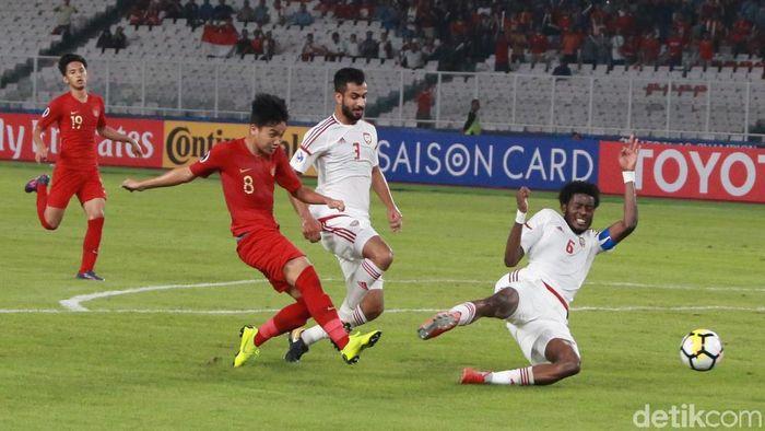 Indonesia lolos ke perempafinal Piala Asia U-19 2018 (Foto: Ari Saputra)
