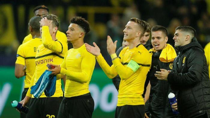 Borussia Dortmund menggasak Atletico Madrid 4-0. (Foto: Leon Kuegeler/Reuters)