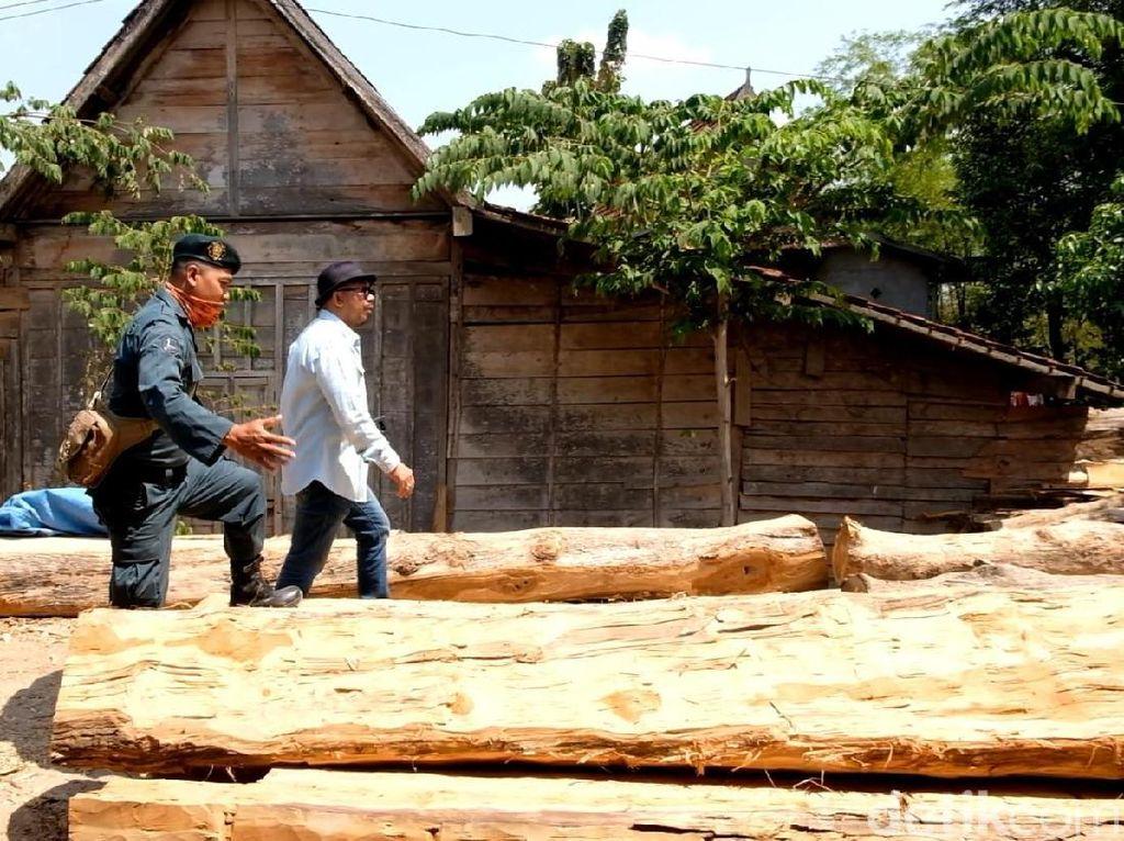 Illegal Logging Terbesar se-Jawa Dibongkar, Berasal dari 20 KPH