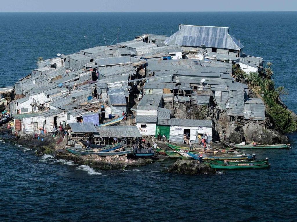 Potret Miris Pulau Terpadat di Afrika