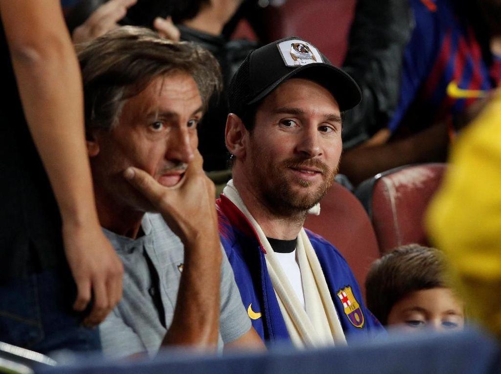 Masih Cedera pun, Kapten Messi Tetap Ada untuk Barcelona di Camp Nou