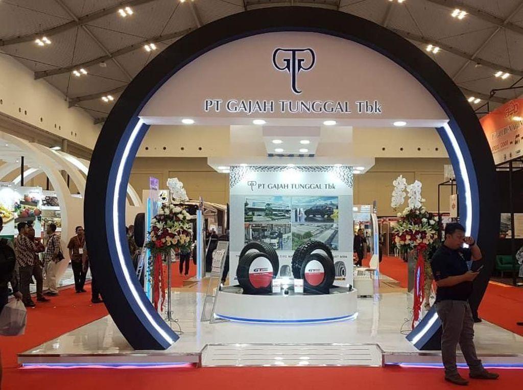 Produk Unggulan Gajah Tunggal Mejeng di Trade Expo Indonesia
