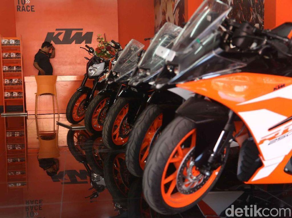 Harga Motor KTM Tak Bakal Turun walaupun Dirakit di Gresik