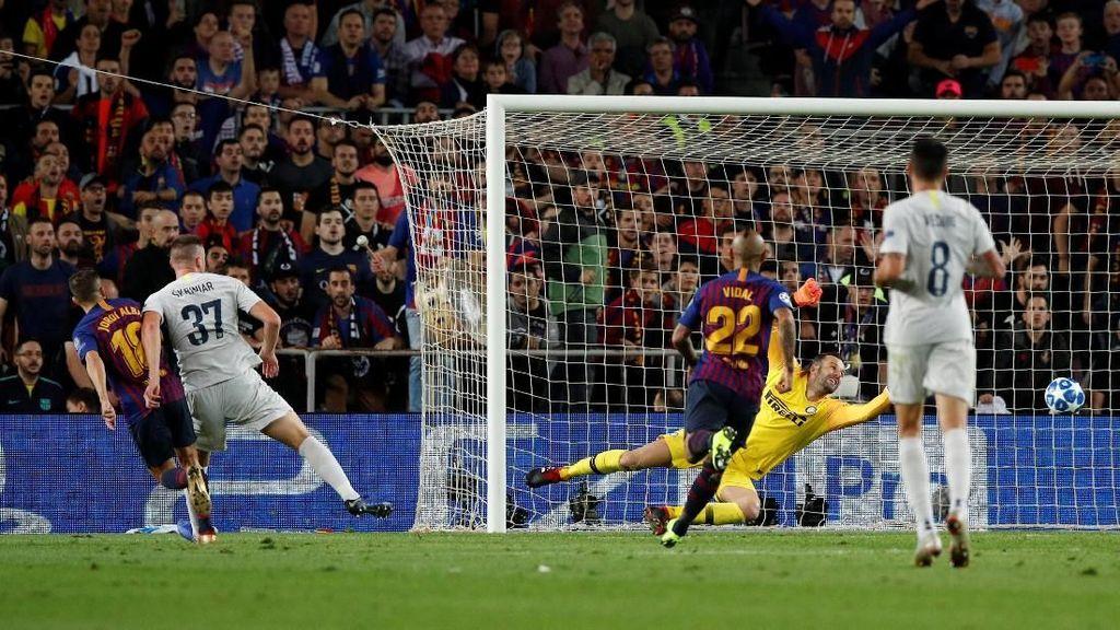 Tanpa Messi, Barcelona Tetap Perkasa