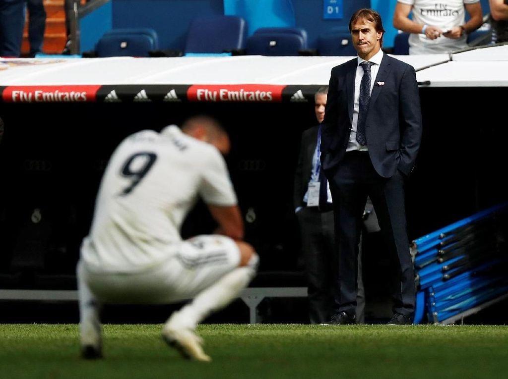 Ini Statistik Lopetegui 137 Hari Melatih Real Madrid