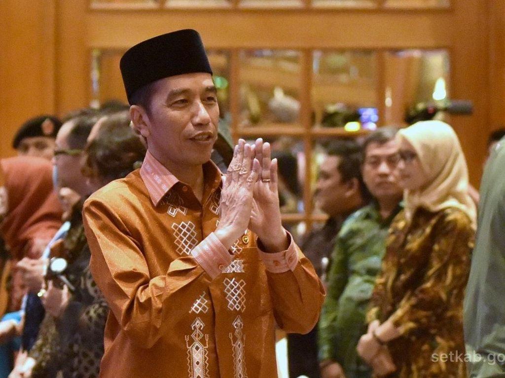 Saat Jokowi Larang Emak-emak Kampanyekan Dirinya