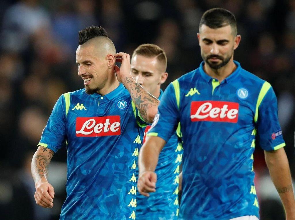 Kesal Betul Napoli Cuma Nyaris Menang atas PSG