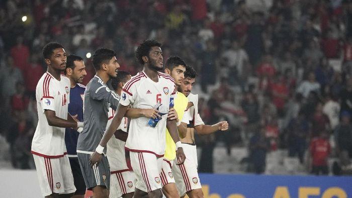 UEA takluk 0-1 dari Indonesia, sekaligus gagal melangkah ke perempatfinal Piala Asia U-19. (Foto: AFC)