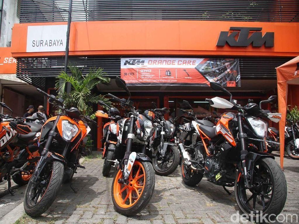 Pajak Bea Balik Nama Naik, KTM Siap Lakukan Penyesuaian Harga