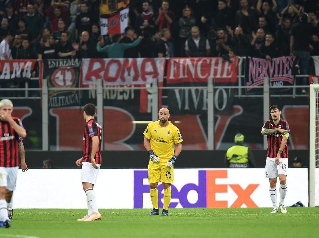 Milan Tersungkur Lagi