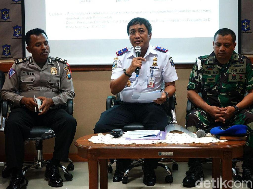 Awas, Bulan Depan Dishub Sanksi Tegas Pelanggar Parkir di Surabaya