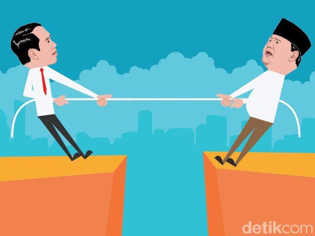 Menyimak Visi-Misi Jokowi-Maruf Vs Prabowo-Sandiaga dan Faktanya Kini