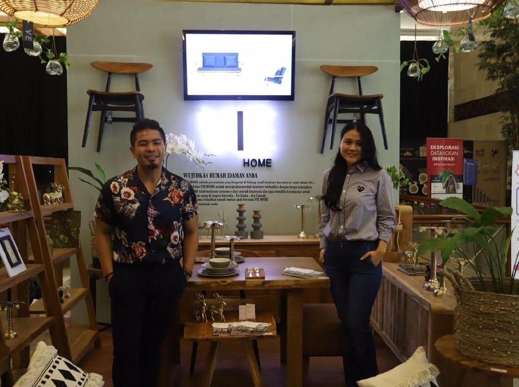 Setelah Makanan Sehat, Kini Bams Bisnis Furniture Bareng Istri