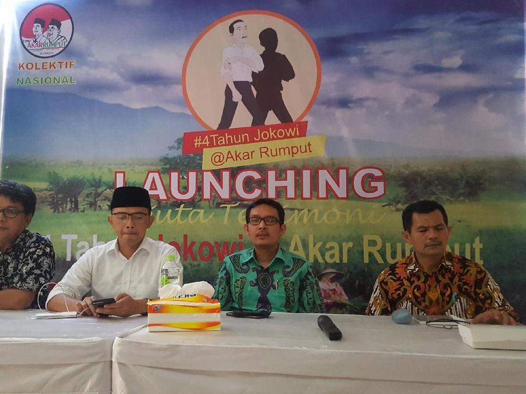 Timses Resmikan Komunitas Relawan Jokowi-Maruf Akar Rumput