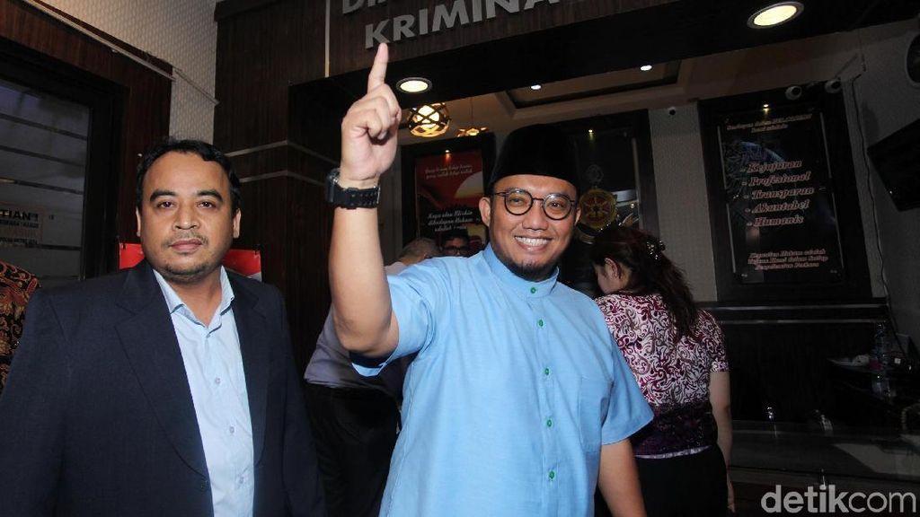 Ekspresi Dahnil Anzar Siap Dikonfrontir Soal Hoax Ratna